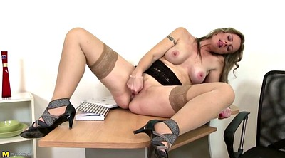 Table, Feed, Mature pussy