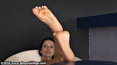 Feet nylon, Foot tease