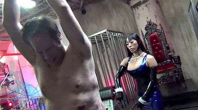 Asian femdom, Whip, Bdsm asian, Asian bdsm, Whipping, Latex bondage