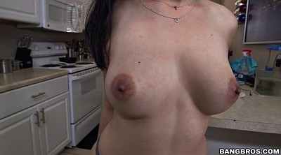 Clean, Latina maid, Cleaning, Big tit maid