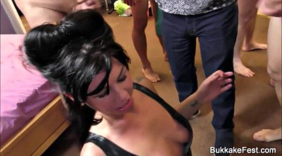 Sex party, Gina, Amateur gangbang