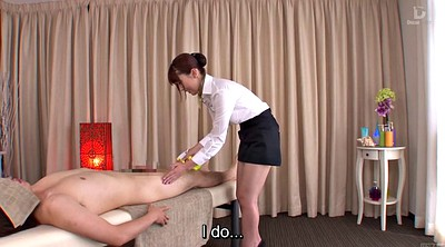 Japanese massage, Yui, Japanese subtitle, Bottomless, Hatano yui