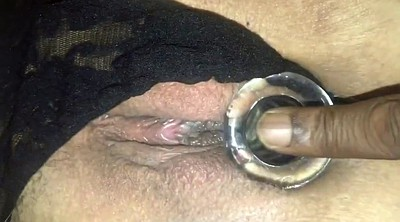 Big clit, Hairy dildo