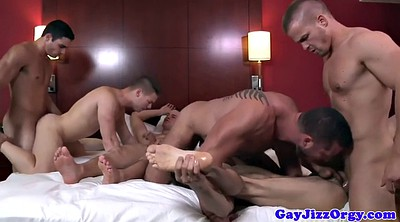 Cock, Anal orgy