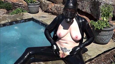 Latex, Milf, Woman, In latex