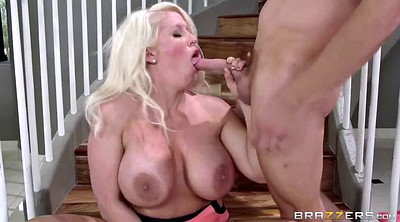 Jenson, Busty mom, Alura jenson mom, Mature blonde, Mom seduced, Mom seduce