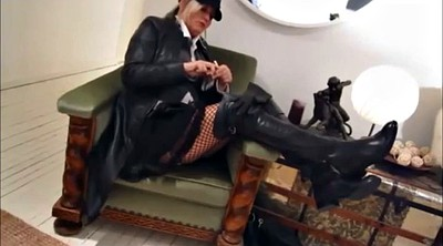 Leather, Leather milf, Latex milf