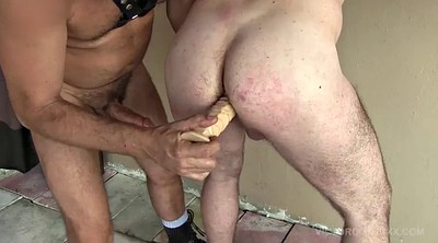 Whipping, Big dildo, Raw