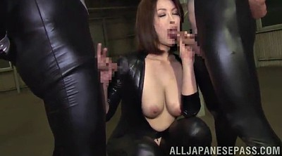 Asian bdsm, Leather