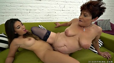 Short hair, Old and young lesbian, Bbw lesbian