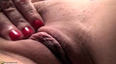 Mature anal, Granny pussy