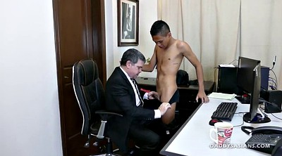 Asian, Twink, Secretary, Old asian, Old gay, Gay interracial