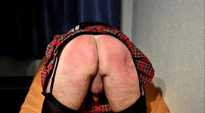 Punish, Crossdress, Spanking punishment
