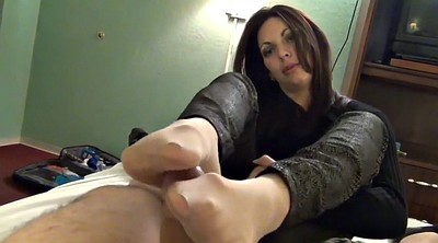 Nylon feet, Nylon foot, Nylons feet, Nylon footjob