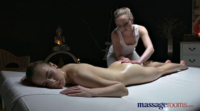 Massage lesbian, Teen orgasm, Massage room