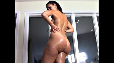 Oiled, Big butt, Popping, Bbw compilation