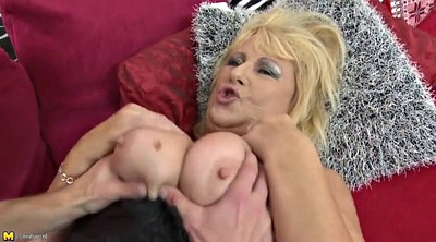 Busty, Young boy, Young busty, Mature bbw sex, Mature and boy, Granny boy