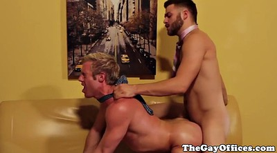 Fat gay, Muscle gay, Office masturbation, Gay office, Gay moan