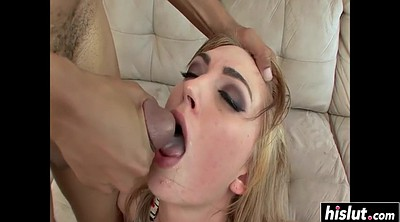 Interracial anal, Anal double