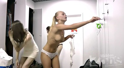 Hidden, Locker room, Mature hidden, Mature blonde, Hidden mature, Hidden camera