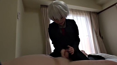 Japanese cosplay, Blowjob japanese