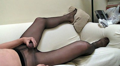 Sperm, Black pantyhose