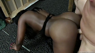Black face sitting, Big white ass