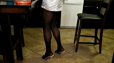 Cd, Heels, Gay white, Miniskirt