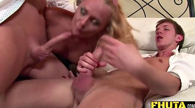 Teen double anal, First anal, Double penetration