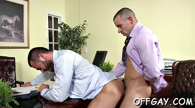 Office anal, Romance, Gay office