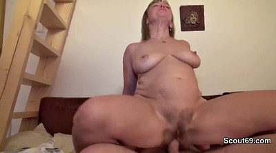 German, Milf anal, Mom anal, Anal granny, German mom, First time anal