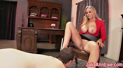 Julia ann, Foot lick, Ann