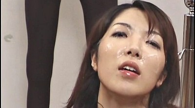 Japanese milf, Asian bukkake