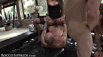 Leather, Squirt, Group sex