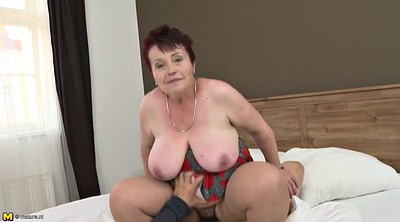 Mom boy, Granny boy, Mature fuck