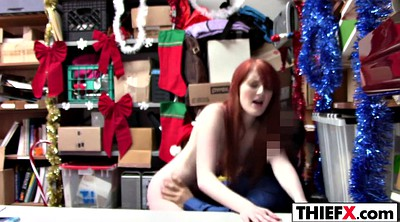 Bend over, Redhead teen