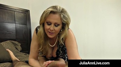 Julia ann, Hand, Mature feet