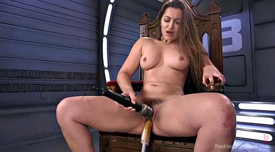 Dani daniels, Hairy solo, Masturbation machine, Fucking machine, Chubby orgasm