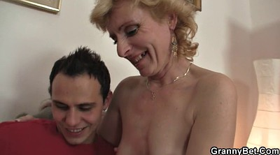Old mature, Young milf, Pick up