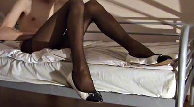 Wanking, Pervert, Gay black, Black pantyhose, Black gay