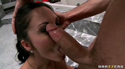 Ava addams, Bathroom, Ball gag