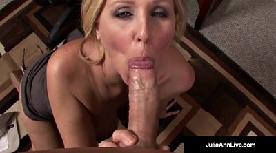 Julia ann, Julia, Office mature, Mature pov