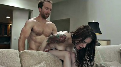 Anal creampie, Anna, Real creampie