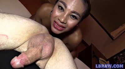 Asian anal, Jasmine, Guy, Shemale creampie, Big tits asian, Big cock shemale
