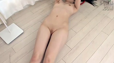 Japanese solo, Small tit, Striptease
