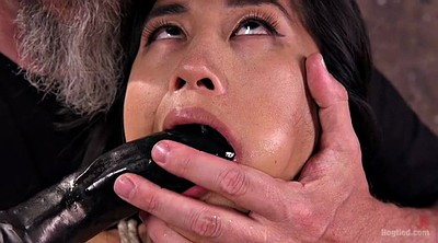 Abuse, Asian slave, Asian tied