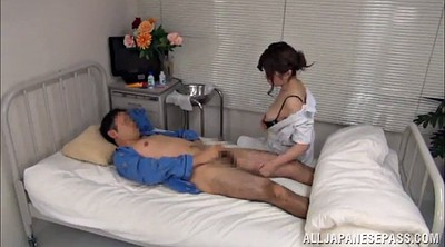 Nurse, Asian handjob, Nature, Nurse handjob, Asian nurse