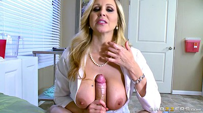 Julia ann, Doctor, Glove, Gloves, Doctor handjob, Hospital