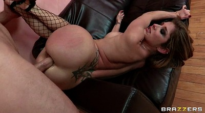 Fishnet, Stockings anal, Hairy anal