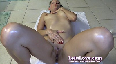 Lelu love, Handjob milking, Cum on body
